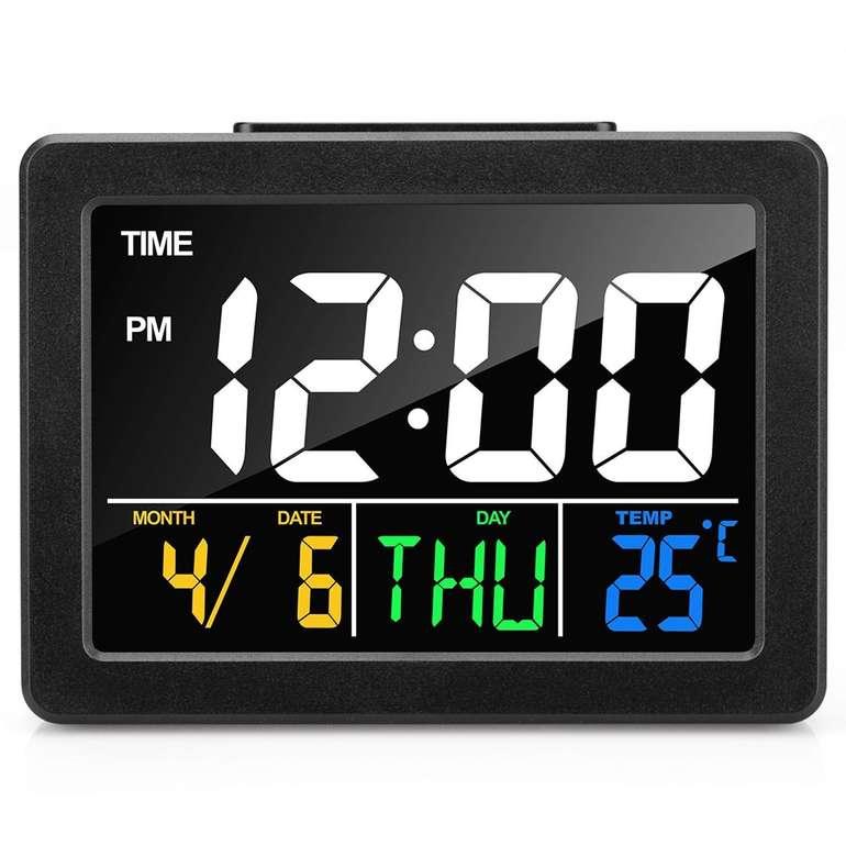 Meross LCD Wecker mit Schlummerfunktion & Temperaturanzeige für 9,99€ inkl. Prime Versand (statt 16€)