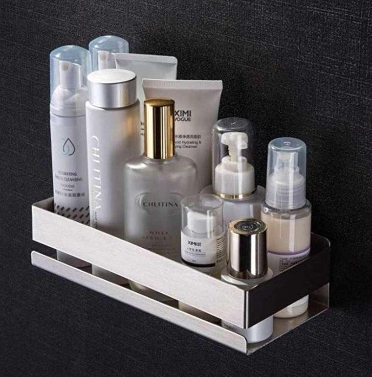 Zunto Badezimmer Duschablage aus Edelstahl für 13,49€ inkl. Prime (statt 27€)
