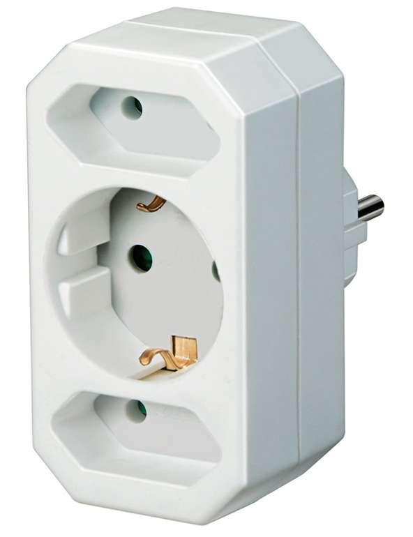 Brennenstuhl Mehrfachsteckdose (3-fach) mit erhöhtem Berührungsschutz für 1,79€ inkl. Prime Versand