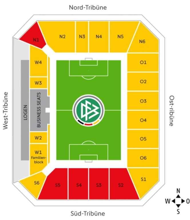 Freikarten für die DFB Nationalmannschaft - Trainingsspiel in Aachen