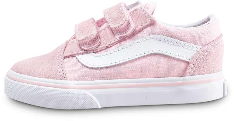 Vans Old Skool Velcro Baby Schuhe für 17,99€ inkl. Versand…