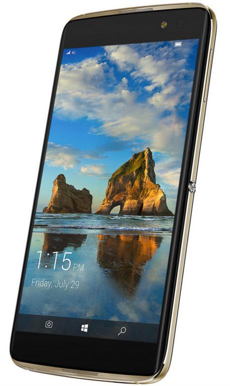 """Alcatel Idol 4 Pro 5,5"""" Smartphone (Win10, 4GB, 64GB) für 155,90€ (statt 219€)"""
