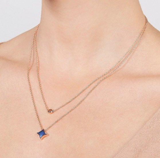 Fossil Double Signature Damen Halskette für 23,60€ inkl. Versand (statt 28€)