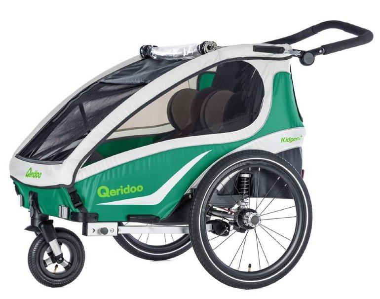 Qeridoo - Kidgoo2 Fahrradanhänger Modell 2018 für 379,99€ inkl. VSK (statt 430€)