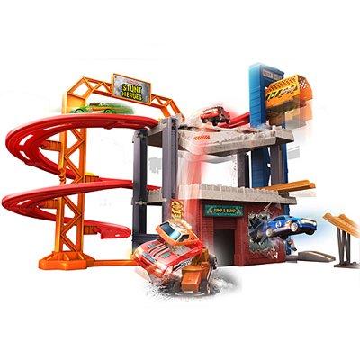 Stunt Heroes Jump n´ Bump Factory (Auto Spielset) für 13,94€ (statt 22€)