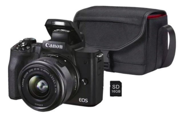 Saturn Card Aktion mit exklusiven Rabatten - z.B. Canon EOS M50 MK II Kit + Tasche für 689€ (statt 799€)