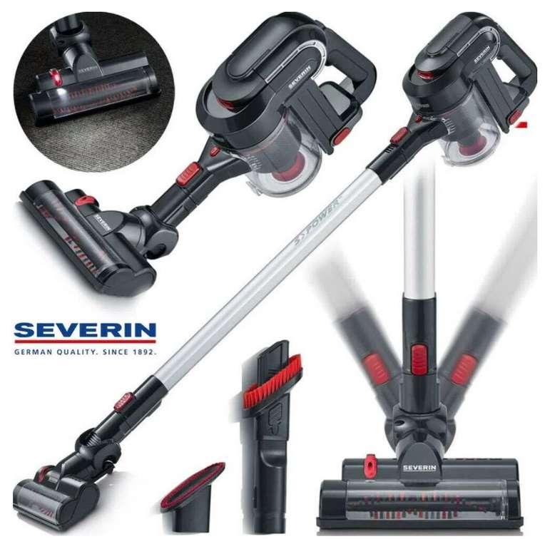 Severin HV7157 - 2-in-1 Akku Boden Staubsauger mit HEPA Filter für 75€ inkl. Versand (statt 88€)