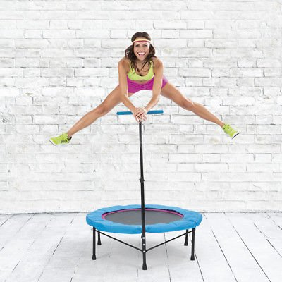 Power Maxx Fitness Trampolin mit Griff für 49,99€ inkl. VSK (statt 90€)