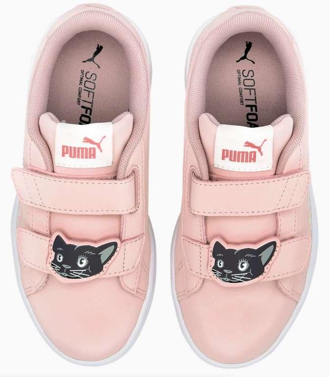 "Puma Smash v2 Animals Kinder Sneaker in ""Peach"" für 27,24€ inkl. Versand (statt 39€)"
