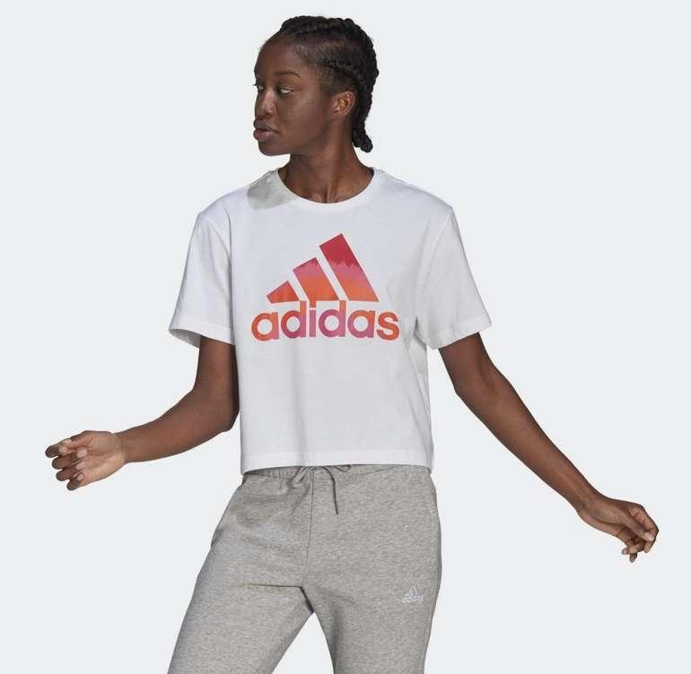Adidas Farm Rio Tie-Dye-Inspired Graphic Cropped T-Shirt für je 14,70€ (statt 21€) - Creators Club!