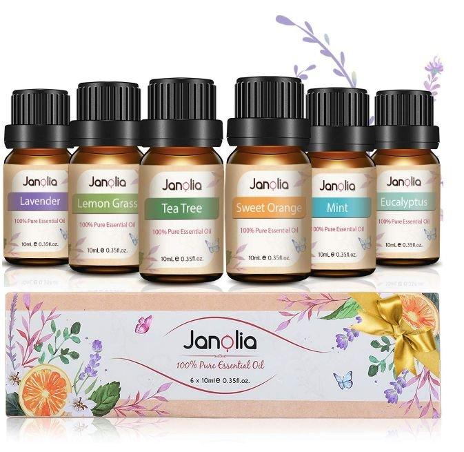 Janolia Duftöl Set für 7,99€ inkl. Prime Versand (statt 11,98€)