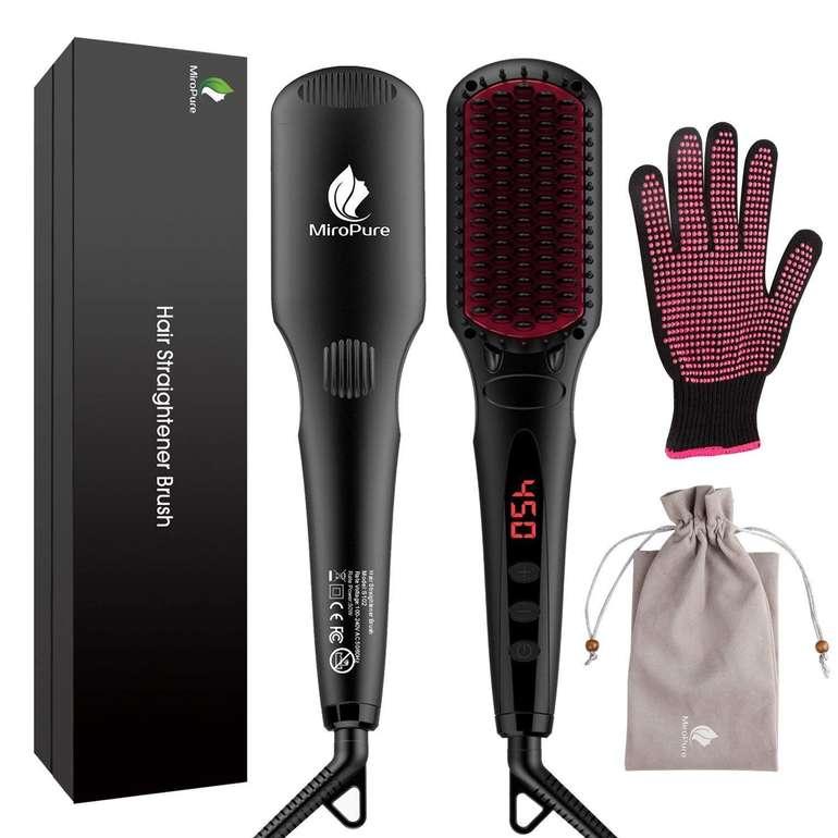 MicroPure 2-in-1 ionischer Haarglätter für 19,99€ inkl. Prime VSK