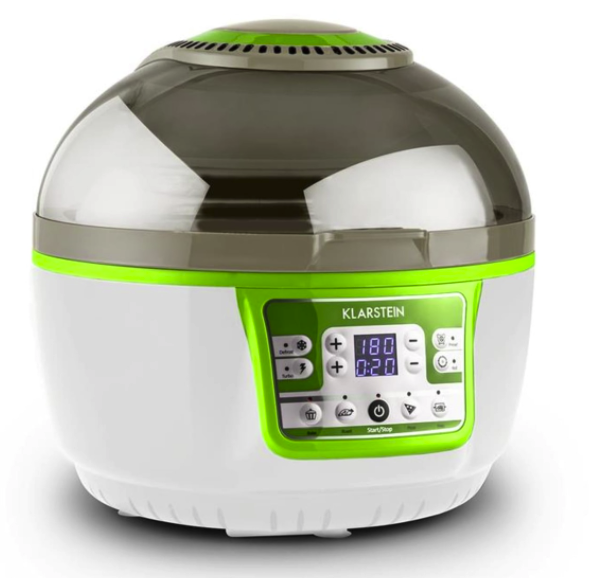 Klarstein VitAir Turbo Smart Heißluftfritteuse in grün für 84,99€ inkl. Versand (statt 118€)