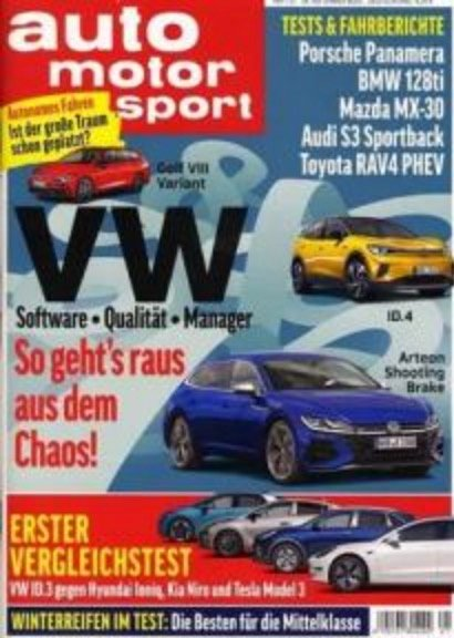 Auto Motor und Sport im Halbjahresabo für 59,15€ + 45€ Bestchoice Gutschein
