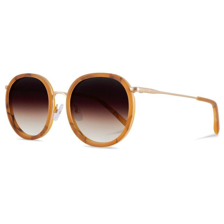 Kerbholz Sonnenbrillen 'Jakob' in braun/orange für 84,92€ inkl. VSK (statt 96€)