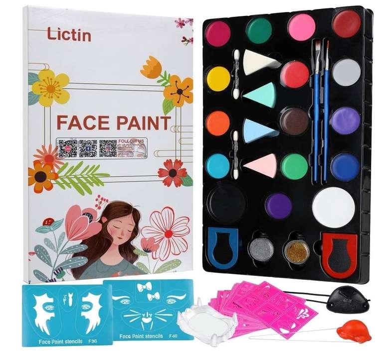 2 Lictin Beauty bzw. Schmink Produkte günstiger auf Amazon, z.B. Kinder Schmink-Set für 7€