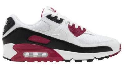 Nike Air Max 90 Sneaker in rot-schwarz-weiß für 70€ inkl. Versand (statt 100€)