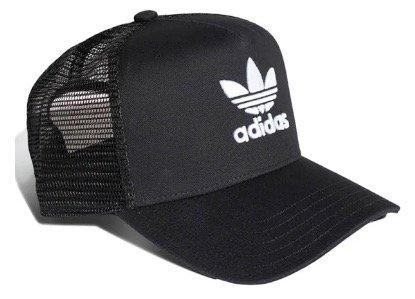 Adidas Trefoil Trucker Cap in schwarz für 12,49€ inkl. Versand (statt 20€)
