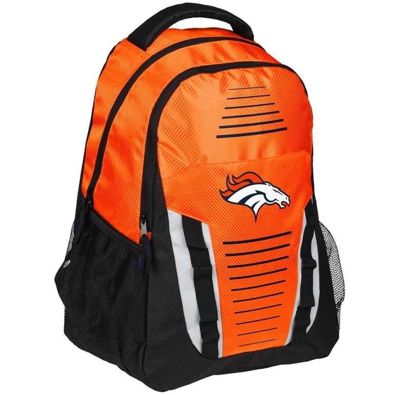 National Football League (NFL) Fanwear Sale, z.B. Denver Broncos NFL Rucksack für 13,94€