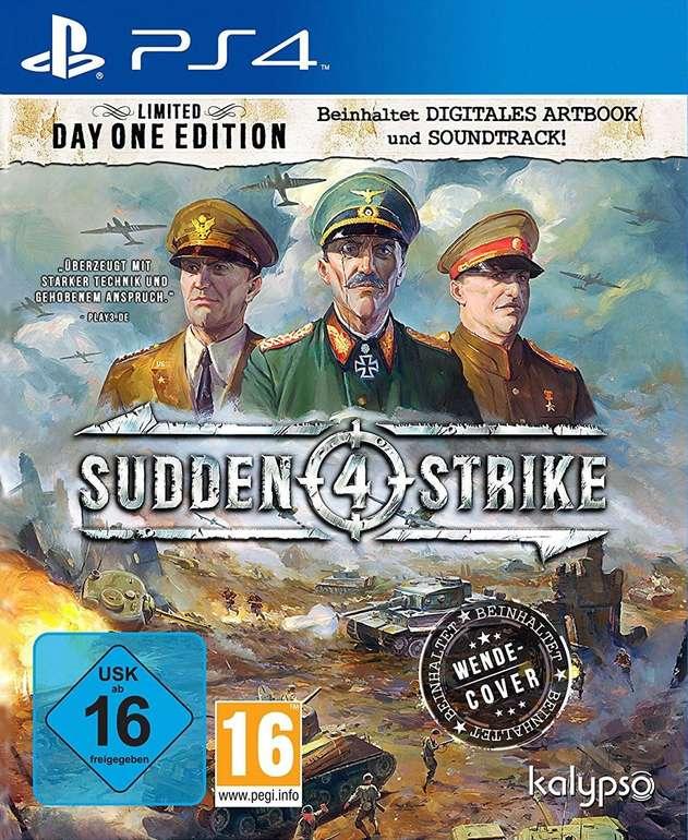 Sudden Strike 4 - Limited Day One Edition (PS4) für 10,63€ inkl. Versand (statt 22€)