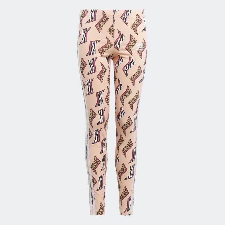 Adidas Allover Print Mädchen Leggings für 16,66€ inkl. Versand (statt 21€) - Creators Club!