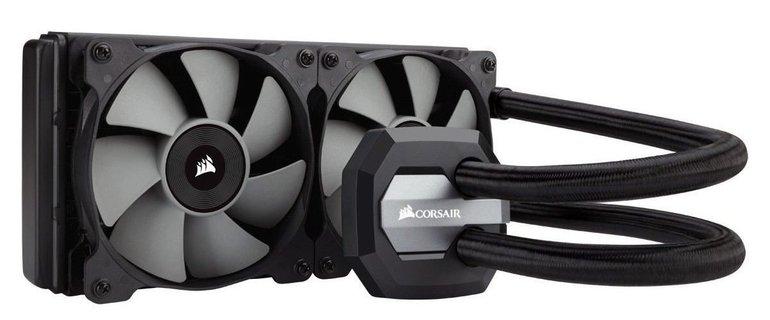 Corsair Hydro H100i v2 Komplett-CPU-Flüssigkeitskühler für 85,89€ inkl. Versand
