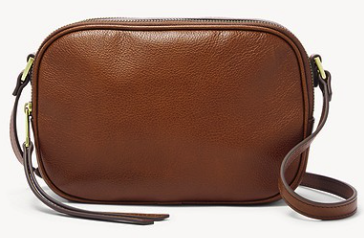Fossil Damen Leder Kameratasche Maisie in braun für 50,70€ inkl. Versand (statt 82€)