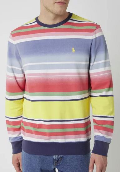 Polo Ralph Lauren Pullover mit Streifenmuster für 71,99€inkl. Versand (statt 85€)