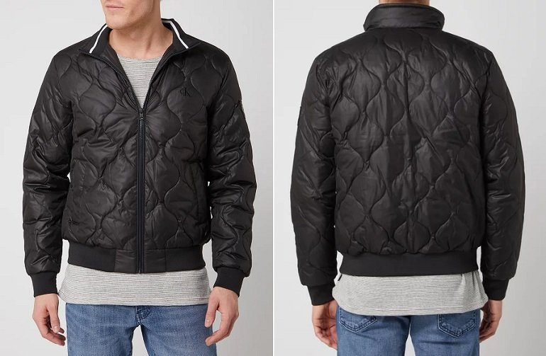Calvin Klein Jeans Quilted Jacke Steppjacke 2