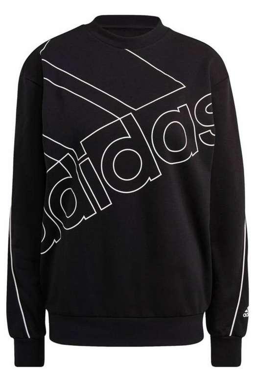 Adidas Essentials Giant Logo Sweatshirt Damen für 31,91€ inkl. Versand (statt 40€)