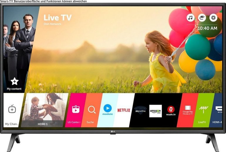 LG 50UM7500PLA - 126 cm/50 Zoll 4K Ultra HD Smart-TV für 365,94€ (statt 450€)