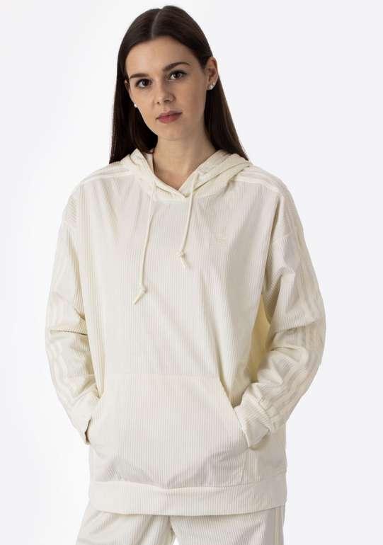 adidas Comfy Chord Damen Hoodie in Weiß für 40,90€inkl. Versand (statt 51€)