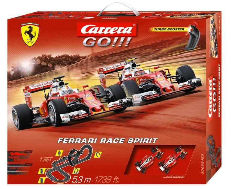 Carrera GO!!! Ferrari Race Spirit Set für 40€ inkl. Versand (statt 55€)