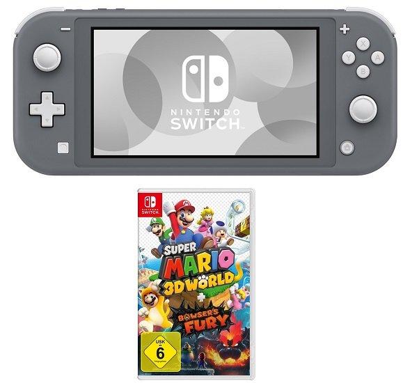 Nintendo Switch Lite inkl. Super Mario 3D World + Bowser's Fury für 219,99€ (statt 242€) - NL-Gutschein!