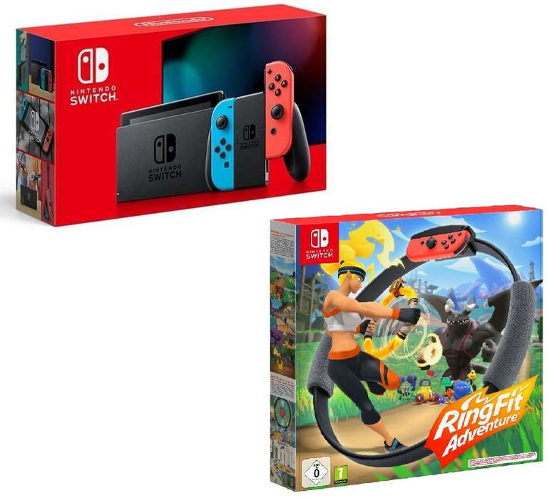 Nintendo Switch (neue Edition) + Ring Fit Adventure (15€) + Congstar Allnet Flat M (8GB LTE) für 19,50€ mtl.
