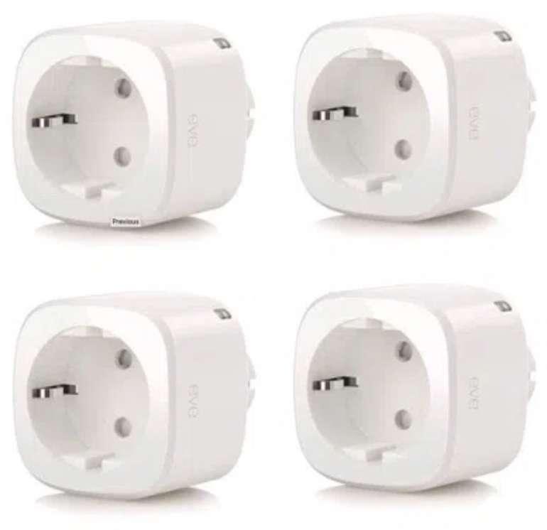4er Pack Elgato Eve Energy Smarte Steckdosen für 109,95€ inkl. Versand (statt 150€)