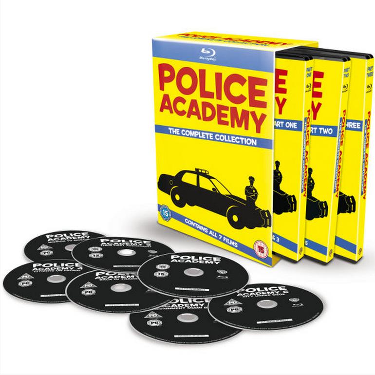 Police Academy 1-7 auf Blu-ray für 16,33€ inkl. Versand (statt 24€)
