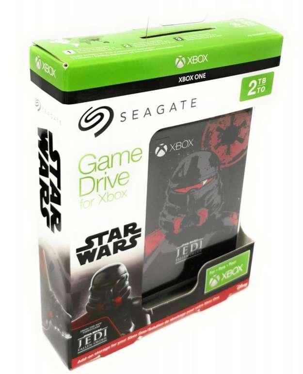"""Seagate Game Drive for Xbox 2TB - Special Edition Star Wars Jedi: Fallen Order (2.5"""", Micro-USB 3.0) für 59€"""