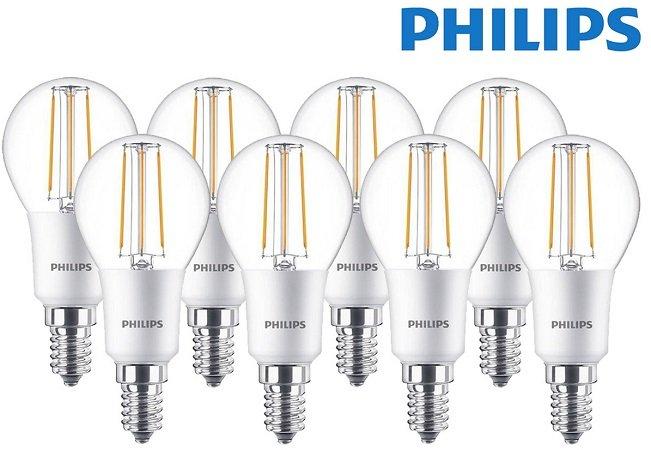 8er Pack Philips LED Classic E14 dimmbare Lampen mit 470 Lumen für 13,90€