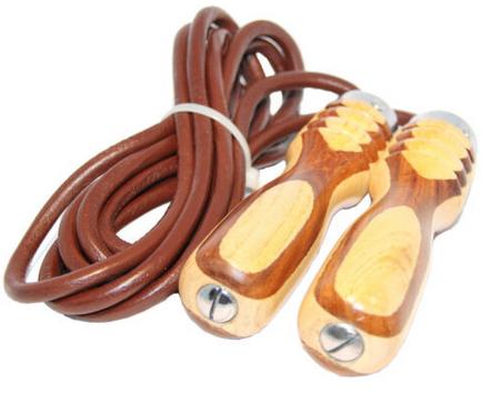"""Jeeta Profi Springseil """"Speed rope"""" aus Stahl + Kugellager + Gewichte für 9,95€"""