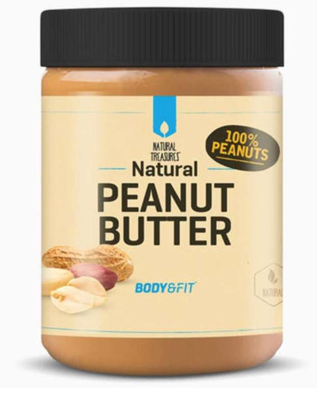 7kg Body & Fit Erdnussbutter (7x 1kg, Crunchy oder Natur) für 23,52€ inkl. Versand (statt 34€)