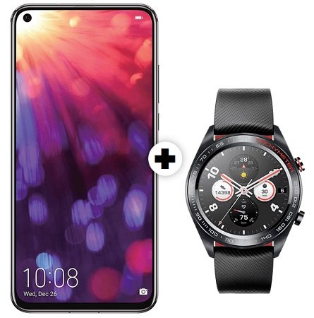 Honor View 20 + Honor Watch Magic + Vodafone Allnet mit 1GB LTE ab 21,99€ mtl.