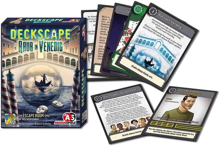Deckscape - Raub in Venedig, Escape Room Spiel,