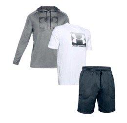 Under Armour Bundle Sale, z.B. Outfit 3-teilig für 53,95€ (statt 80€)