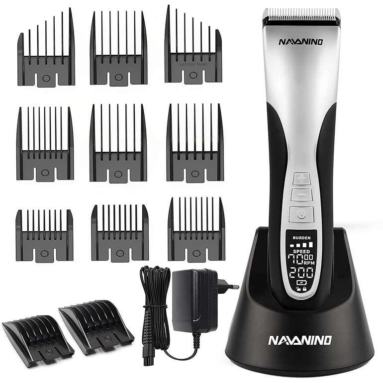 Navanino Haarschneidemaschine mit 11 Aufsätzen für 23,99€ inkl. Versand (statt 40€)
