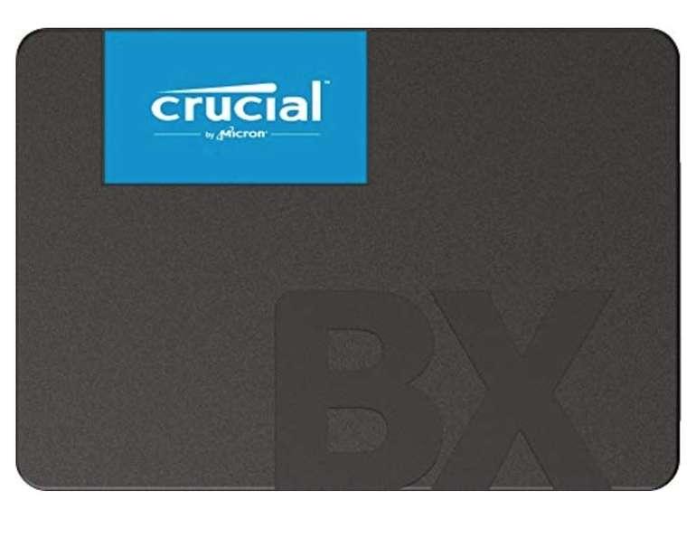 """Crucial BX500 - Interne 2,5"""" SSD mit 2TB Speicher (3D NAND, SATA) für 179€ (statt 198€)"""