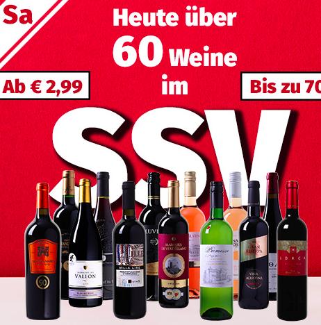 SSV Sale bei Weinvorteil - z.B. Pluvium Premium Selection - Vino Tinto ab 2,99€