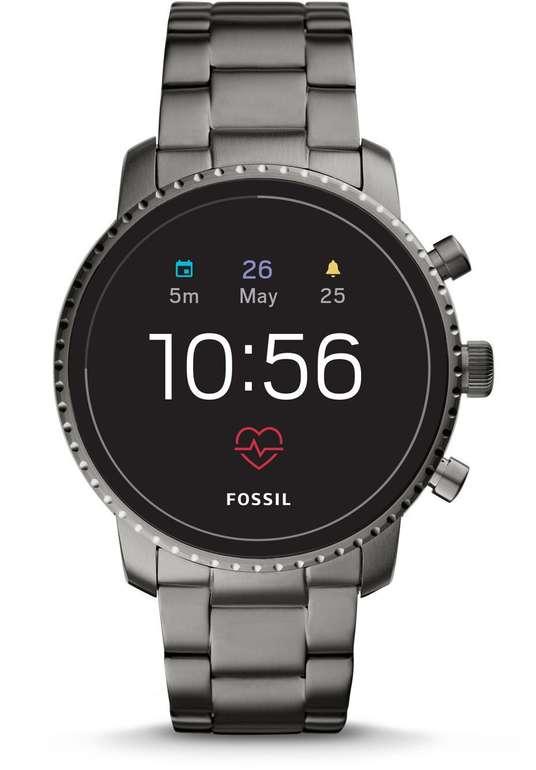 Fossil Q Explorist HR Edelstahl FTW 4012 Smartwatch für 150,99€ (statt 204€)