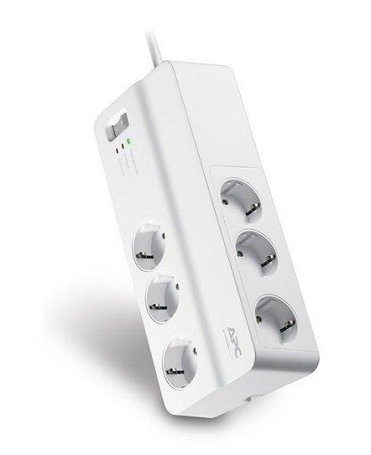 APC PM6-GR Essential SurgeArrest Überspannungsschutz-Steckdosenleiste für 14,24€