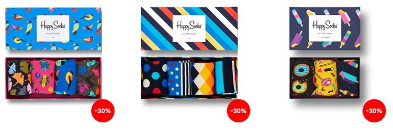 Happy Socks Black Friday Sale